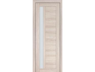 Дверь 37X Капучино Мелинга Стекло Матовое
