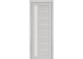 Дверь 37X ЭшВайт Мелинга Стекло Матовое