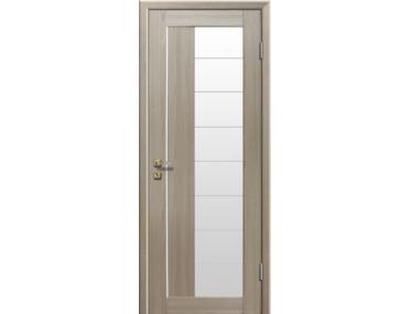Дверь 47X Капучино Мелинга Стекло Матовое