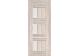 Дверь 35X Капучино Мелинга Стекло Матовое