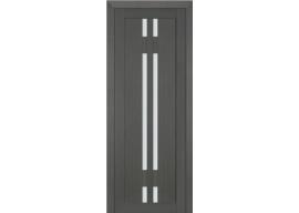 Дверь 40X Грей Мелинга Стекло Матовое