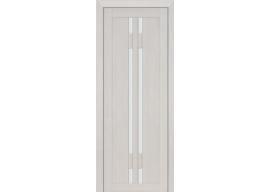 Дверь 40X ЭшВайт Мелинга Стекло Матовое