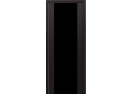 Дверь 8X Венге Мелинга Чёрный триплекс