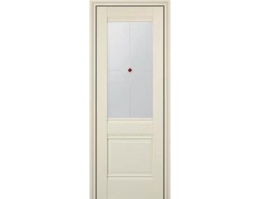Дверь 2X ЭшВайт