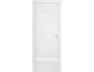 Дверь 3Z ЭшВайт Кроскут Белый лак