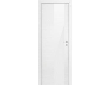 Дверь 5Z ЭшВайт Кроскут Белый Лак