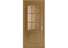 Дверь Капри-3 ДО Дуб натуральный