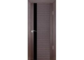 Дверь D4 Бриз, Венге