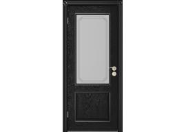 Дверь Шервуд 3 ДО, Эмаль чёрная