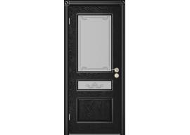 Дверь Вена ДО, Эмаль чёрная