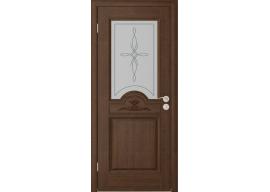 Дверь Люкс ДО, Каштан