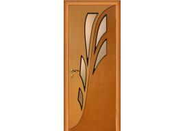 Дверь Орхидея ДО дуб