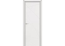 Дверь Граффити 5 ДГ белая эмаль