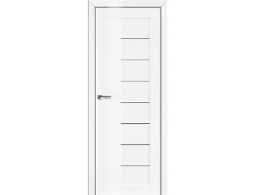 Дверь 17L Белый люкс графит