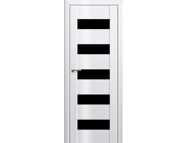 Дверь 29L Белый люкс черный триплекс