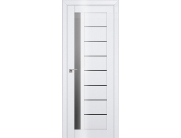Дверь 37L Белый люкс графит