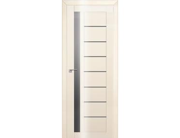 Дверь 37L Магнолия люкс графит