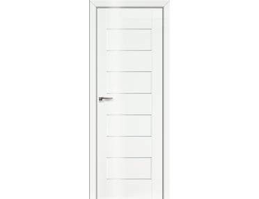 Дверь 45L Белый люкс графит