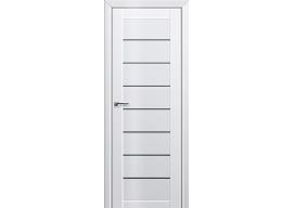 Дверь 71L Белый люкс графит