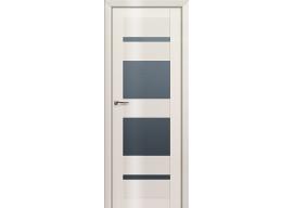 Дверь 72L Магнолия люкс графит