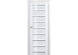 Дверь 76L Белый люкс графит