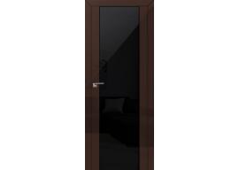 Дверь 8L Терра черный триплекс