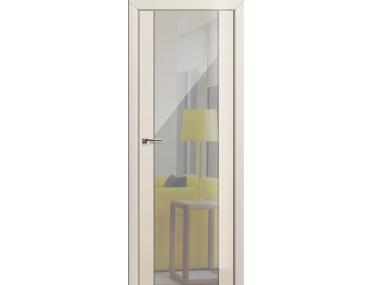 Дверь 8L Магнолия люкс зеркальный триплекс