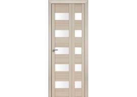 Дверь межкомнатная 29x складная, Капучино мелинга
