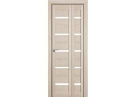 Дверь межкомнатная 7x складная, Капучино мелинга
