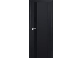 Дверь 62U Черный бархат, черный лак