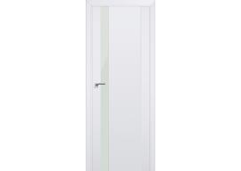 Дверь 62U Аляска, белый лак