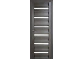 Дверь 57x Грей мелинга, чёрный лак