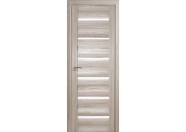 Дверь 57x Капучино мелинга, стекло матовое