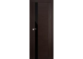 Дверь 62x Венге мелинга, чёрный лак