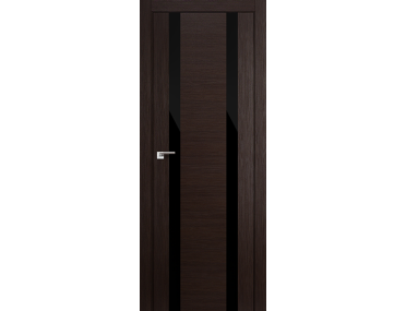 Дверь 63x Венге мелинга, чёрный лак