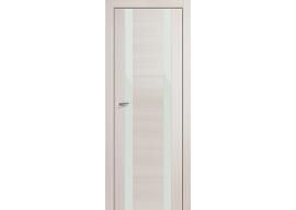 Дверь 63x Эш Вайт мелинга, белый лак
