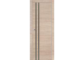 Дверь 19Z Капучино Кроскут, Шампань