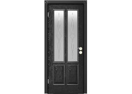 Дверь Плимут ДО, Эмаль черная