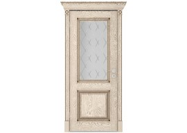 Дверь Валенсия ДО, Эмаль ваниль